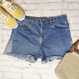Levi's | 517 High Waisted Cut Off Shorts
